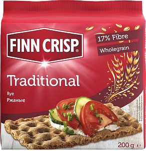 Хлебцы Finn Crisp Traditional (традиционные) 200 г